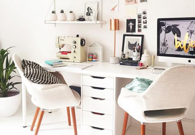 Ideas para tu espacio de trabajo sin gastar una fortuna